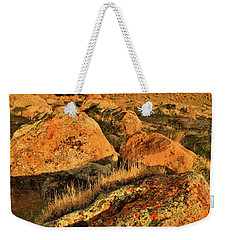 Rainbow Over The Book Cliffs Weekender Tote Bag