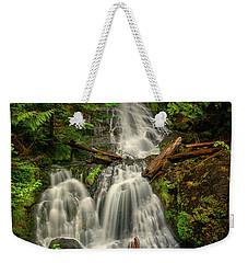 Rainier Falls Creek Falls Weekender Tote Bag