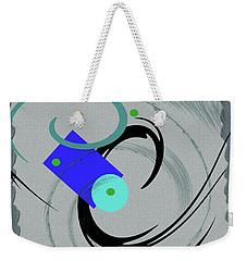 Randomness Variations 5, On Paper Montage Weekender Tote Bag