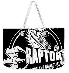 Raptor Comics Black Weekender Tote Bag