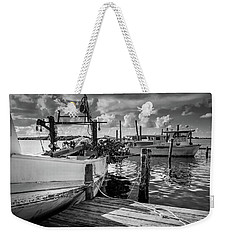 Weekender Tote Bag featuring the photograph Ready To Go In Bw by Doug Camara