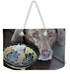 Weekender Tote Bag featuring the photograph Reba by Rosanne Licciardi