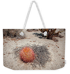 Red Barrel Cactus And Mesquite Weekender Tote Bag