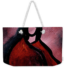 Red Blanket Weekender Tote Bag
