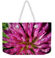 Red Clover Flower Weekender Tote Bag
