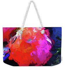 Red Pomegranate In The Blue Light Weekender Tote Bag