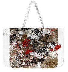 Red Splashes Weekender Tote Bag