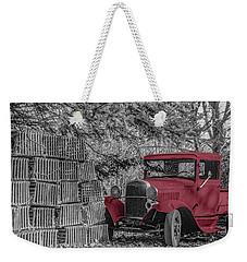 Red Truck Weekender Tote Bag