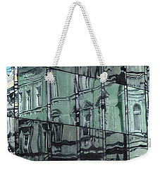 Reflection On Modern Architecture Weekender Tote Bag
