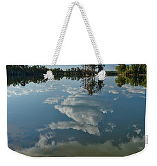 Reflections By The Lake Weekender Tote Bag