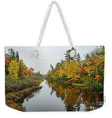 Reflections In Autumn Weekender Tote Bag