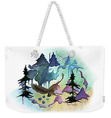 Reflections Of Port Townsend Weekender Tote Bag