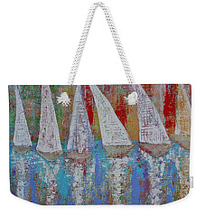 Regatta Original Painting Weekender Tote Bag