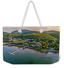 Weekender Tote Bag featuring the photograph Regent Views by Michael Hughes