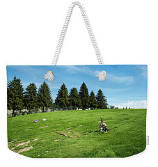Remembering A Child In Peshastin Weekender Tote Bag