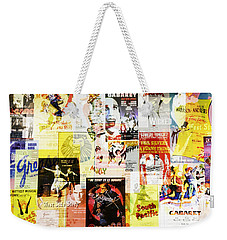 Remembering Broadway Weekender Tote Bag