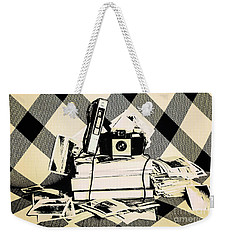 Research And Development Weekender Tote Bag