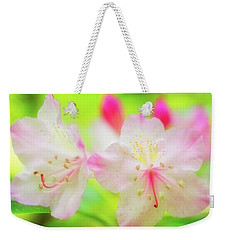 Weekender Tote Bag featuring the photograph Rhododendron 5 by Leland D Howard