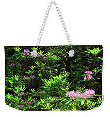Rhododendron Contrast Weekender Tote Bag