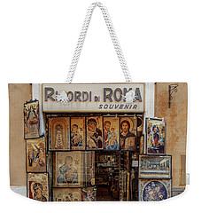Weekender Tote Bag featuring the photograph Ricordi Di Roma by Craig J Satterlee