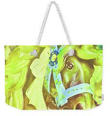 Ride Of Old Green Weekender Tote Bag