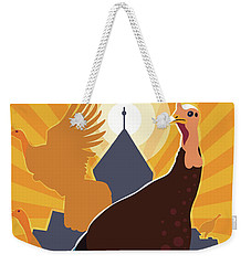 Rise Up Weekender Tote Bag