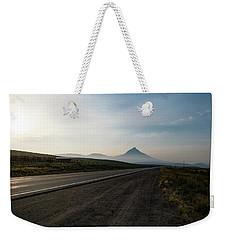 Road Through The Rockies Weekender Tote Bag