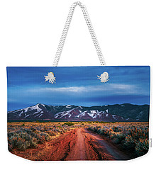 Road To Sangre De Cristo Mountain Range Weekender Tote Bag