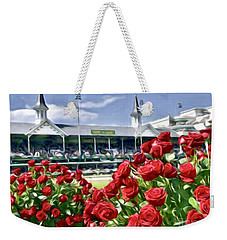 Road To The Roses Weekender Tote Bag