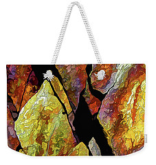 Rock Art 17 Weekender Tote Bag