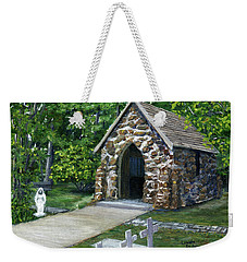 Rock Chapel Louisiana Church Weekender Tote Bag