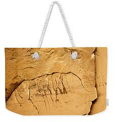 Rock Face Weekender Tote Bag