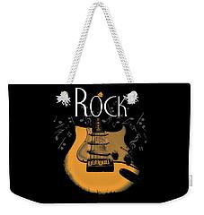 Rock Guitar Music Notes Weekender Tote Bag