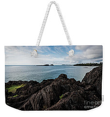 Rocky Coastline Weekender Tote Bag