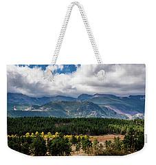 Rocky Foothills Weekender Tote Bag