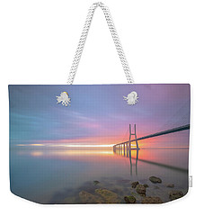 Rocky Lisbon Weekender Tote Bag