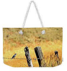 Rocky Mountain Blue Bird Weekender Tote Bag