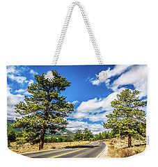 Rocky Mountain Highway Weekender Tote Bag