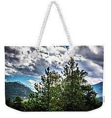 Rocky Mountain Pines Weekender Tote Bag