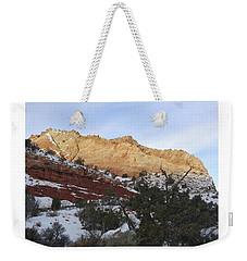 Rocky Slope Weekender Tote Bag