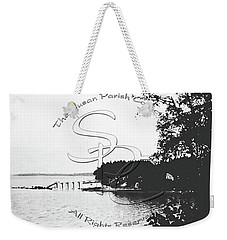 Weekender Tote Bag featuring the photograph Rohr's Dock, Boston Harbor, 1932 by Unknown