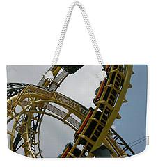 Roller Coaster Loops Weekender Tote Bag