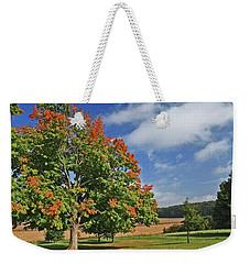 Rolling Farmland Weekender Tote Bag