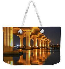 Roosevelt Bridge Portrait Weekender Tote Bag