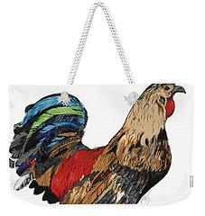 Rooster 1 Weekender Tote Bag
