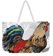 Rooster On Big Island Weekender Tote Bag