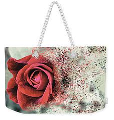 Rose Disbursement Weekender Tote Bag
