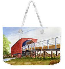 Roseman Bridge Weekender Tote Bag