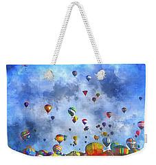 Rough Air Weekender Tote Bag