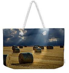 Round Bales Weekender Tote Bag